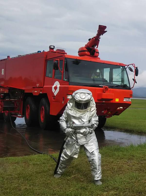 空港消防部隊